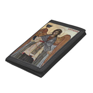 Archangel Gabriel Trifold Wallets