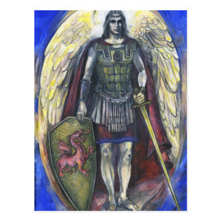 Archangel Michael, 3 - Postcard