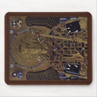 Archangel Michael By Meister Der Ikone Des Erzenge Mouse Pad