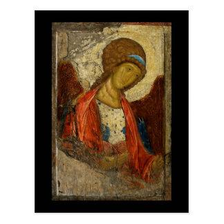 Archangel Michael c1414 Postcard