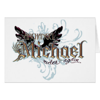 Archangel Michael Card