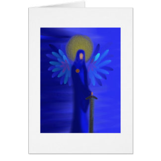 Archangel Michael - Divine Protection Card