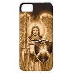 Archangel Michael  iPhone case - sepia tone iPhone 5 Cases