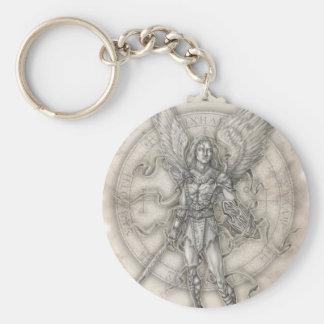 Archangel Michael Keychain