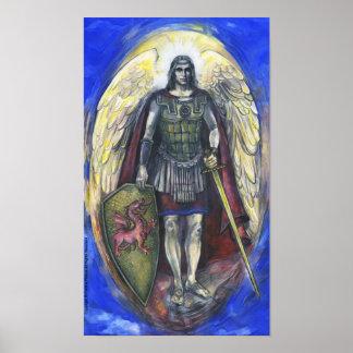 """Archangel Michael"" Poster 28"" x 20"""