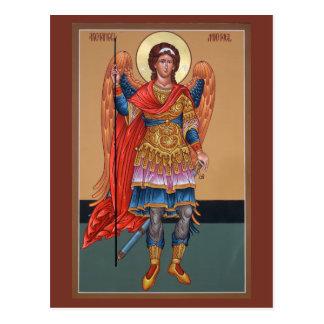Archangel Michael Prayer Card Postcard