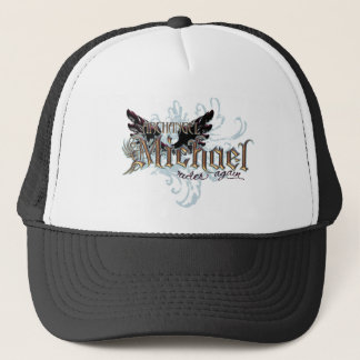 Archangel Michael Trucker Hat