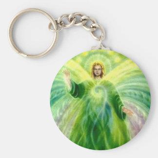 Archangel Raphael Healing Light Key Ring