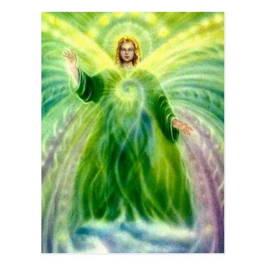 Archangel Raphael Healing Light Postcard