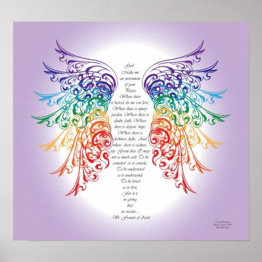 Archangel Raphael Prayer Poster