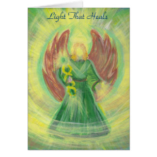 Archangel Raphael: The Light That Heals Card