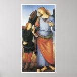 Archangel Raphael with Tobias, c. 1496-1500 Print