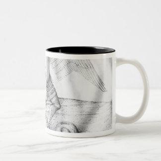 Archangel St. Michael, c.1450 Two-Tone Coffee Mug