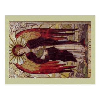 Archangel Uriel postcard