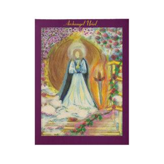 Archangel Uriel Poster Wood Poster