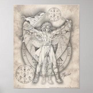 Archangel Uriel Print