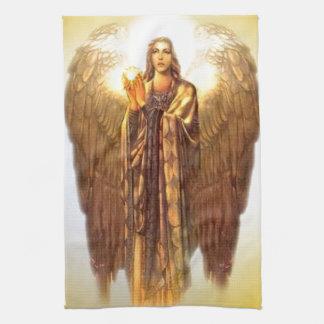 Archangel Uriel Tea Towel