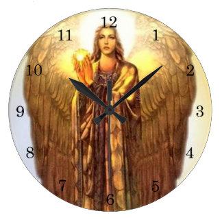 Archangel Uriel Wallclock