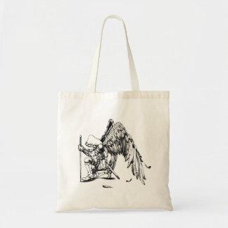 ArchAngel Warrior Tote Bags