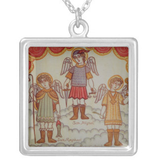 Archangels Silver Plated Necklace