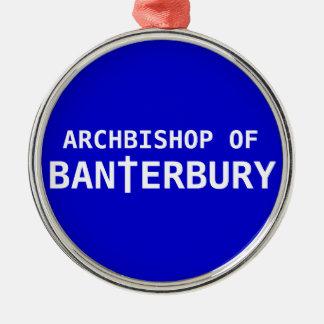Archbishop of Banterbury 2 Christmas Ornament