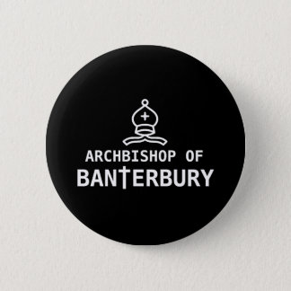 Archbishop of Banterbury 6 Cm Round Badge