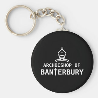 Archbishop of Banterbury Key Ring