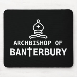 Archbishop of Banterbury Mouse Mat