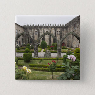 Archbishop Palace Of Braga With Garden 15 Cm Square Badge
