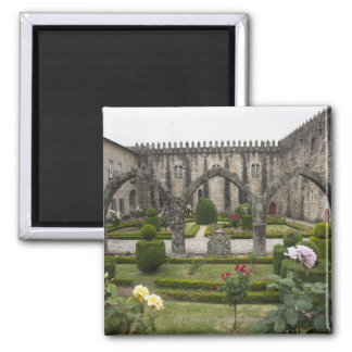 Archbishop Palace Of Braga With Garden Square Magnet