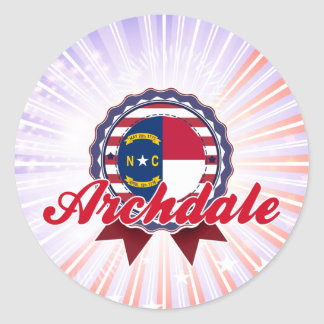 Archdale NC Stickers