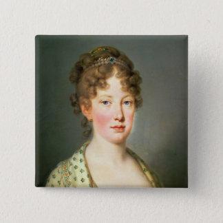 Archduchess Leopoldina of Austria 15 Cm Square Badge