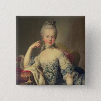Archduchess Marie Antoinette 15 Cm Square Badge