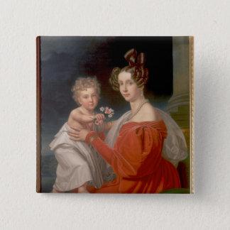 Archduchess Sophia of Austria 15 Cm Square Badge