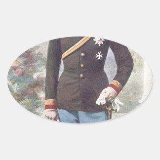 Archduke Franz Ferdinand of Austria Oval Sticker
