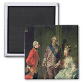Archduke Maximilian Franz visiting Marie Square Magnet