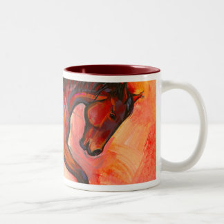 Arched Neck Horse Mug