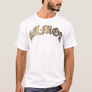 Arched SAMOA Gold T-Shirt