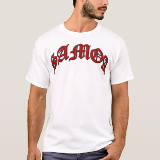 Arched SAMOA Red T-Shirt