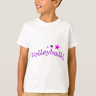 Arched Volleyball with Stars T-Shirt