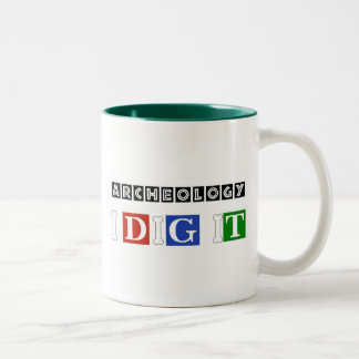 Archeology I Dig It Mugs