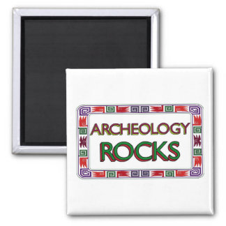 Archeology Rocks Magnet