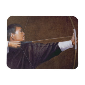 Archer Bhutan Rectangular Photo Magnet