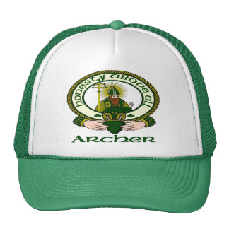 Archer Clan Motto Cap Trucker Hats