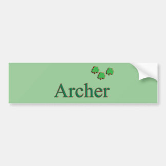 Archer Family Bumper Sticker
