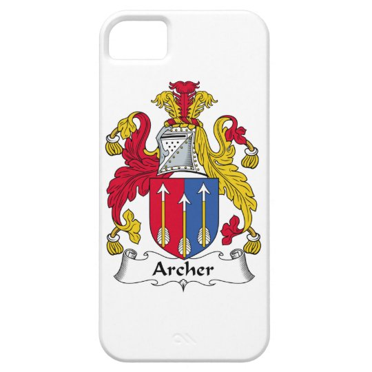 Archer Family Crest iPhone 5 Cover