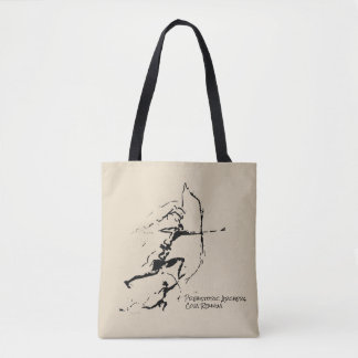 Archers of Remigia Cave Tote Bag