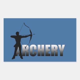 Archers Summer Games Archery 2012 Rectangular Sticker