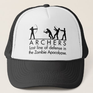 Archers VS Zombies Trucker Hat