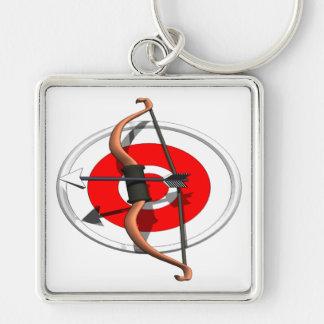 Archery 4 key ring